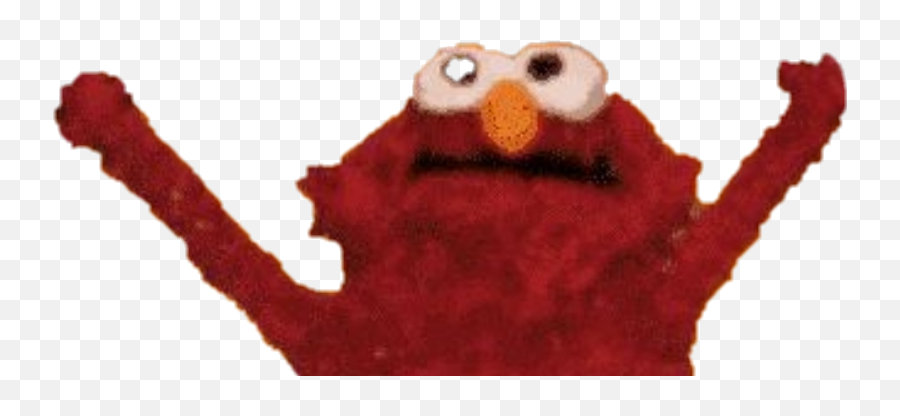 Elmo Fire Meme Clipart - Elmo Fire Without Fire Emoji