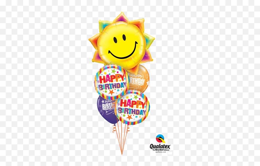 A Little Birthday Sunshine - Get Well Soon Men Balloon Emoji