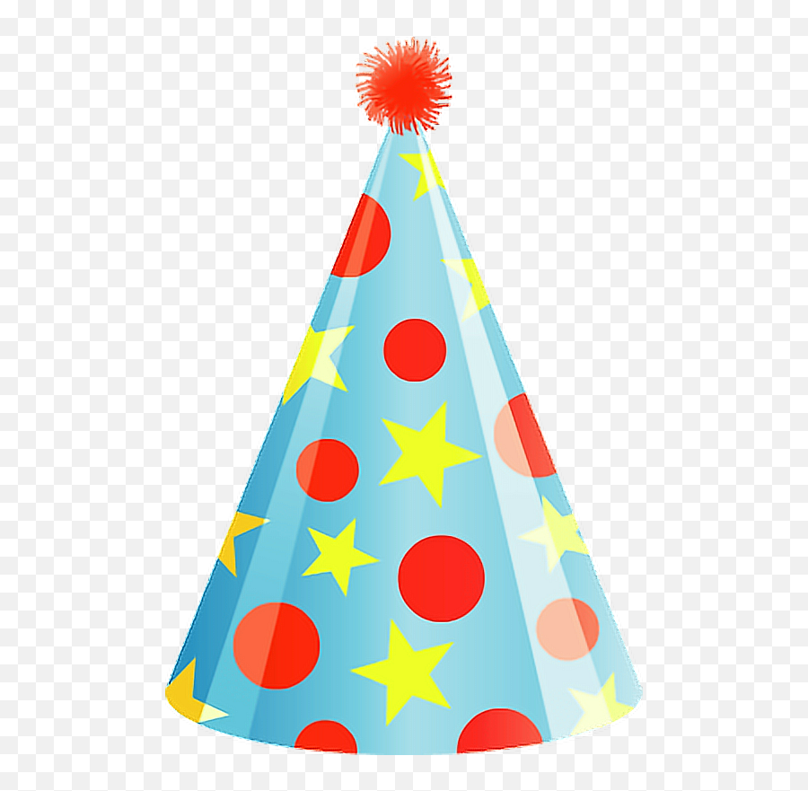 Happybirthday Birthday Hat Party Birthdayparty Freetoed - Transparent Background Party Hat Png Emoji