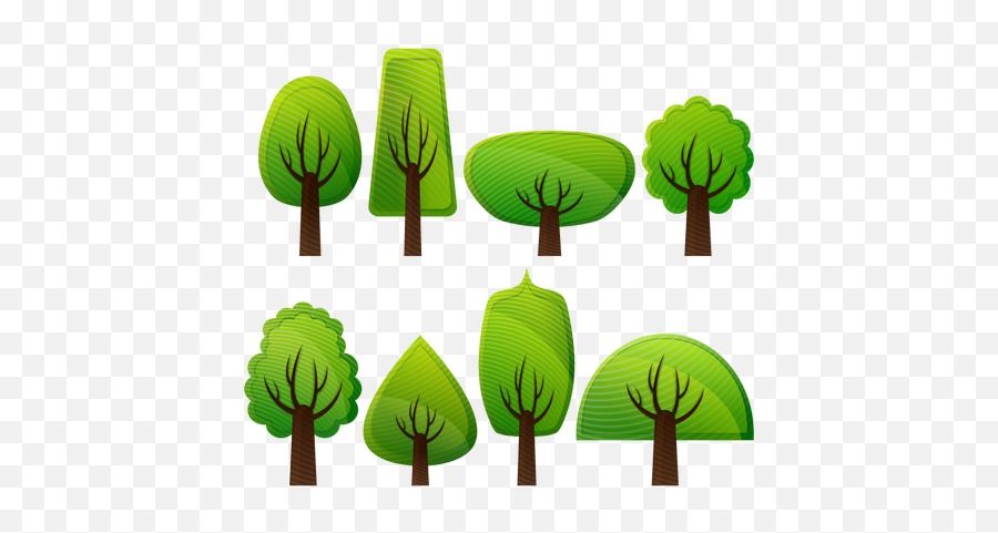 Simple Trees - Simple Clip Art Trees Emoji