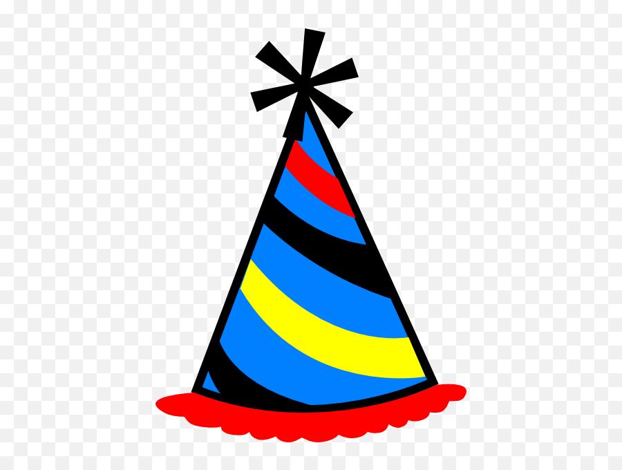 Birthday Hat Transparent Background Free Clipart - Party Hat Clipart Transparent Emoji