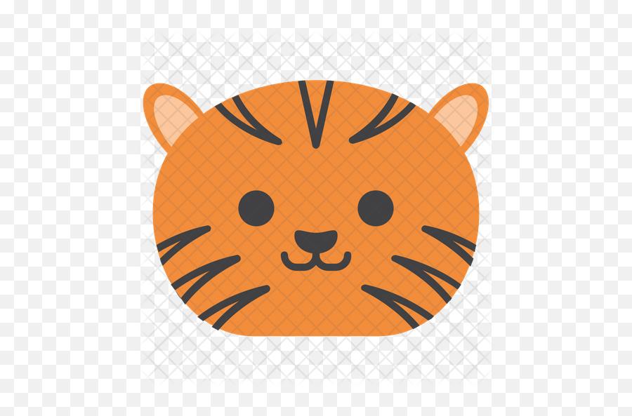 Tiger Emoji Icon - Reserva Natural Da Serra Da Malcata Logotipo,Tiger Emoji