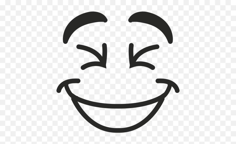 Laughing Emoticon Face - Laughing Face Png Emoji,Laughing Face Emoji