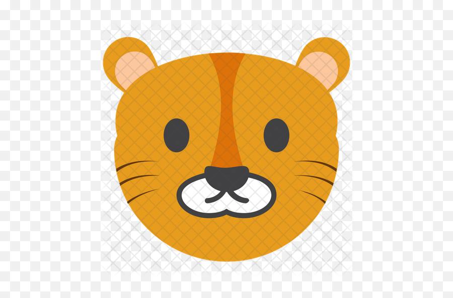 Tiger Emoji Icon - Cartoon,Tiger Emoji
