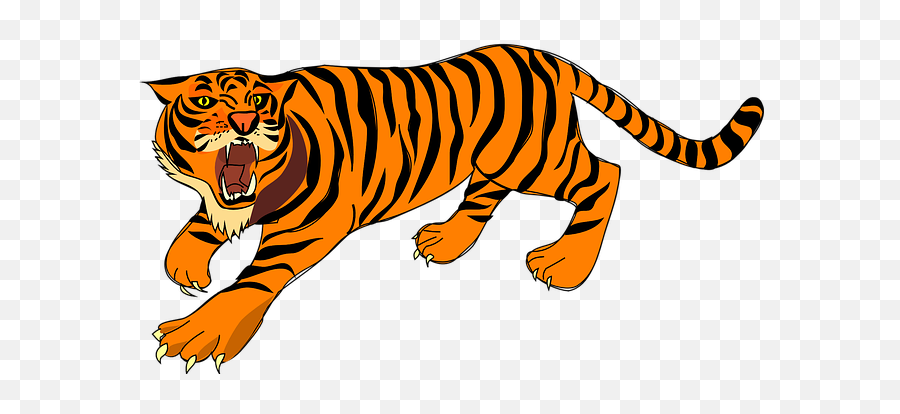 Free Angry Emoticon Vectors - Tiger Clipart Emoji,Tiger Emoji