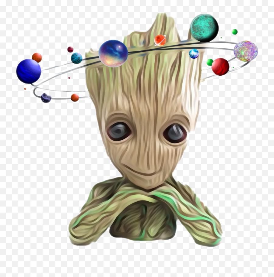 Groot Marvel Comics Space Galaxy Stars - Groot Png Emoji,Groot Emoji