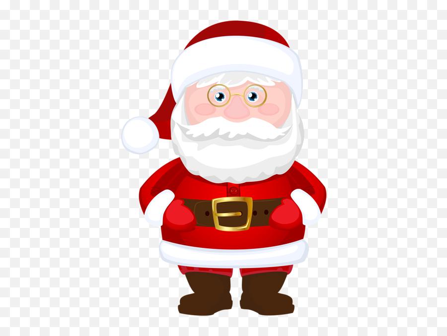 Sscp46 - Cartoon Santa Transparent Background Emoji,Santa Clause Emoticon