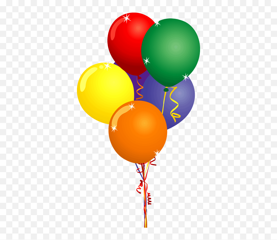 0 Images About Balloon Clip Art - Birthday Balloons Clipart Emoji