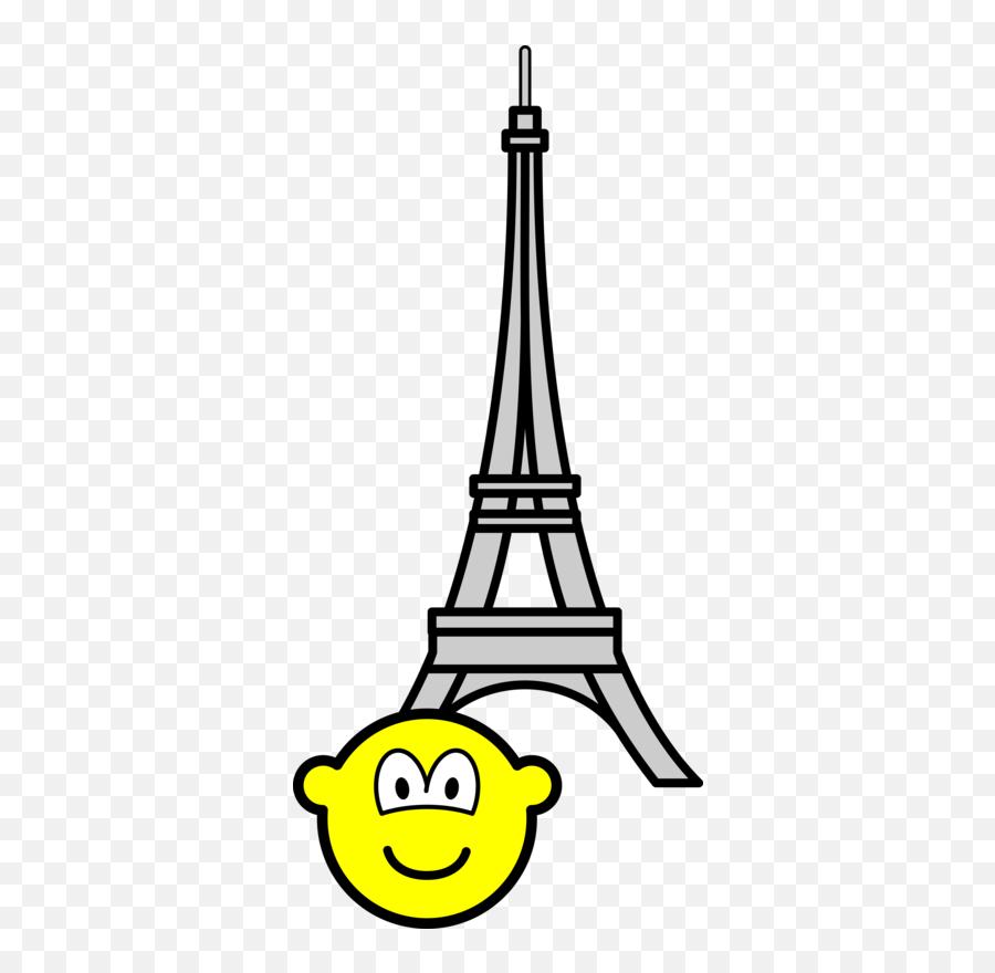 Buddy Icons Emofaces - Eiffel Tower Clipart Gif Emoji,Eiffel Tower Emoji