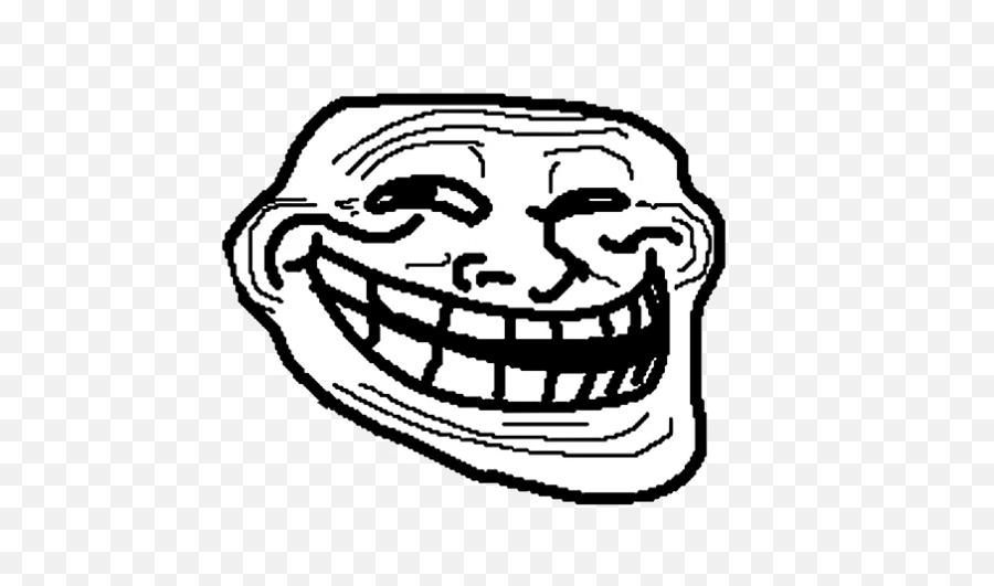 Pokemon Trainer Academy - Troll Face Transparent Emoji