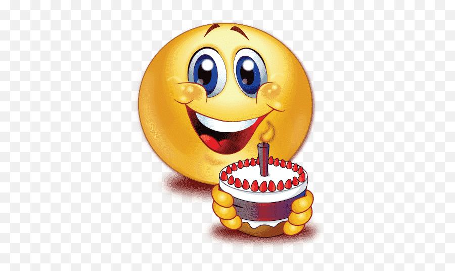 Top Whatsapp Stickers - Birthday Cake Emoji Birthday Emojis