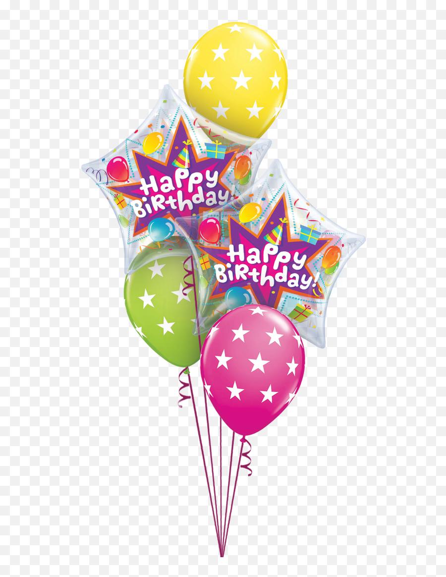 Birthday Balloon Colorfull Happy Bday - Birthday Emoji