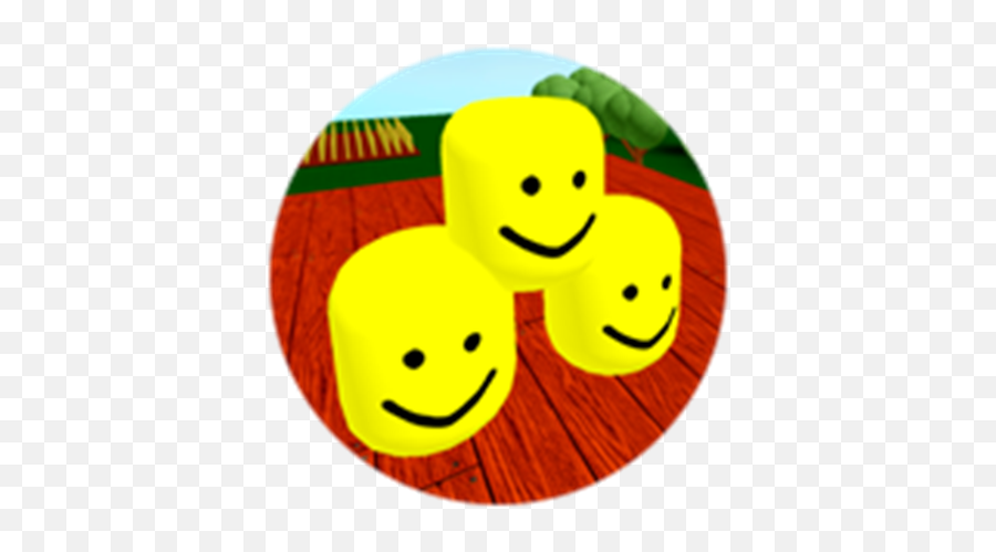 Teamwork Noob Head - Smiley Emoji