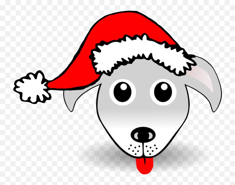 Happy Face With Santa Hat - Santa Hat Clipart Emoji,Santa Clause Emoticon