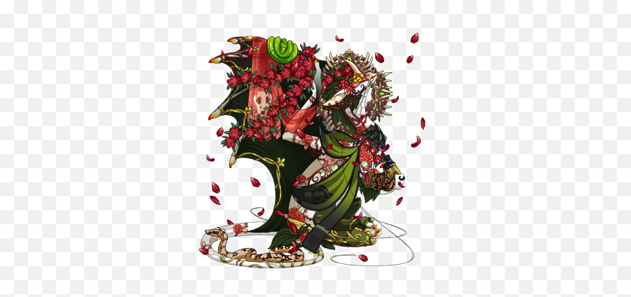 Plague Primal G1 Scatterquest  Dragon Share  Flight Rising - Fictional Character Emoji