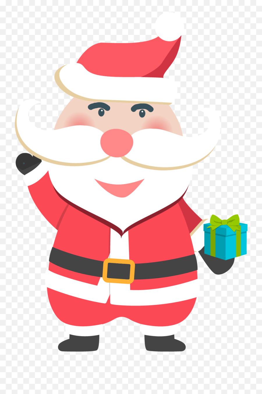 Free Transparent Santa Claus Download - Christmas Day Emoji,Santa Clause Emoticon