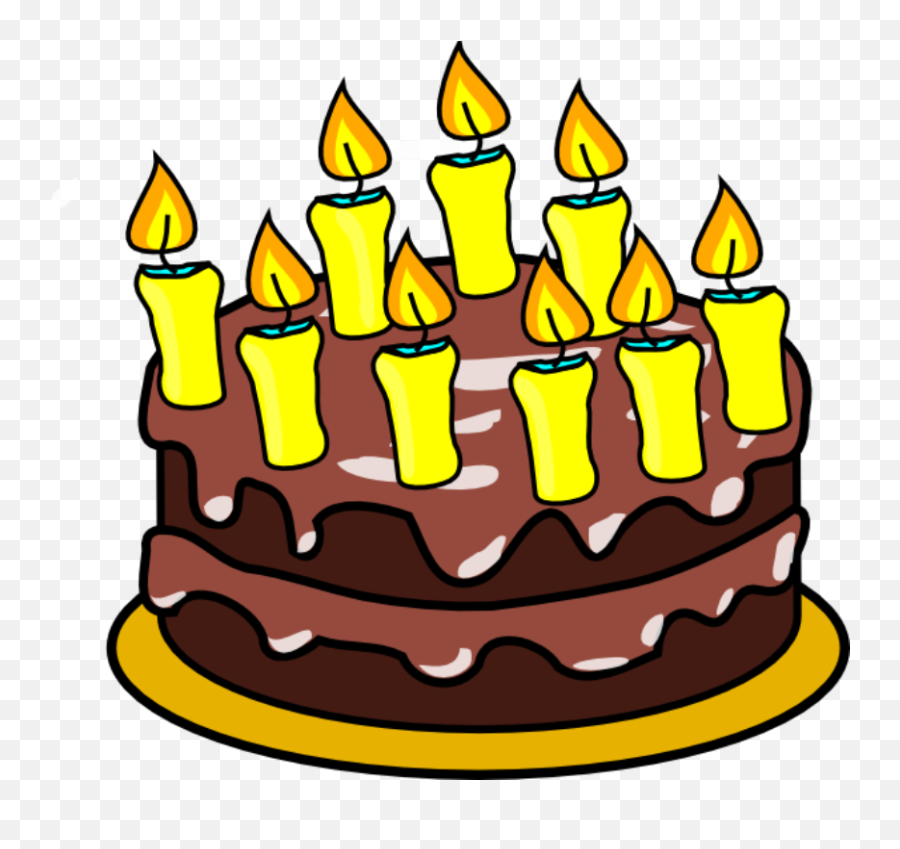 Animated Birthday Cake Clip Art - Birthday Cake 9 Clipart Emoji