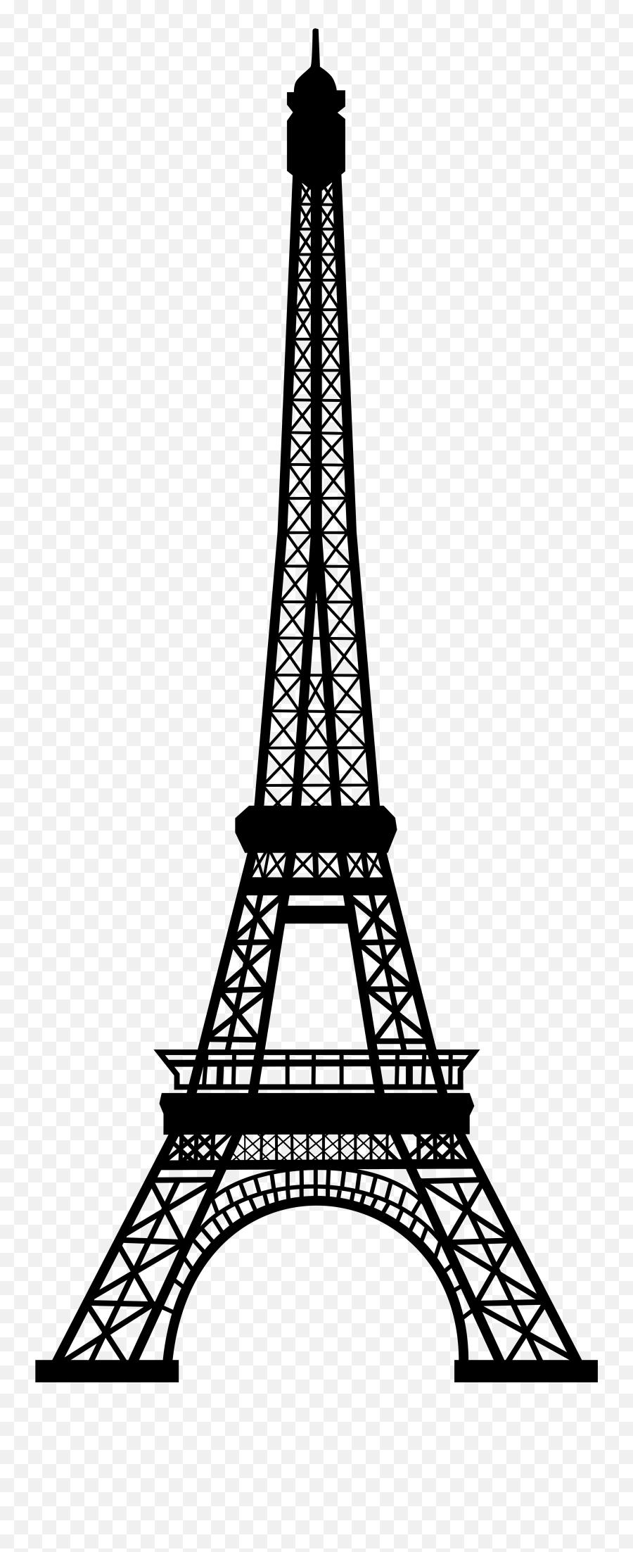 Eiffel Tower Clipart Transparent - Transparent Eiffel Tower Clipart Emoji,Eiffel Tower Emoji