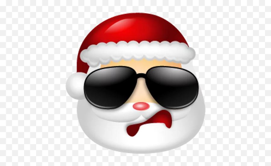 Santa Claus Stickers For Telegram - Sad Father Christmas Emoji,Santa Clause Emoticon