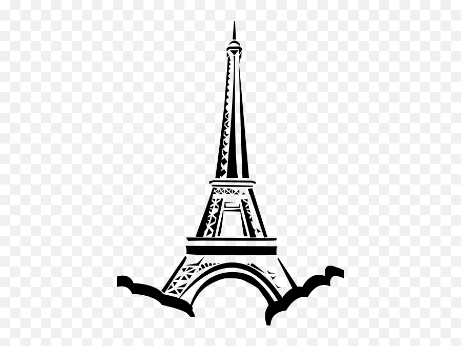 Eiffel Tower Clip Art At Clker Com Vector Clip Art - Paris Eiffel Tower Clip Art Emoji,Eiffel Tower Emoji