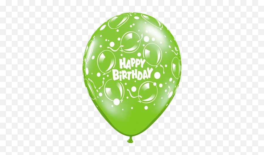 Happy Birthday Balloons - Balloon Emoji