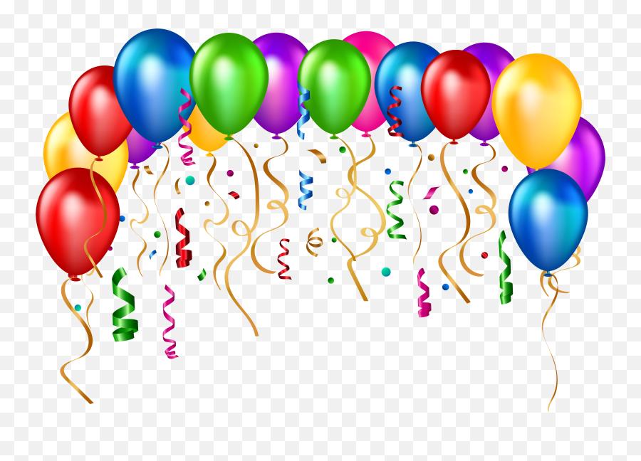 Balloon Happy Birthday Clipart Png - Happy Birthday Png Frame Emoji