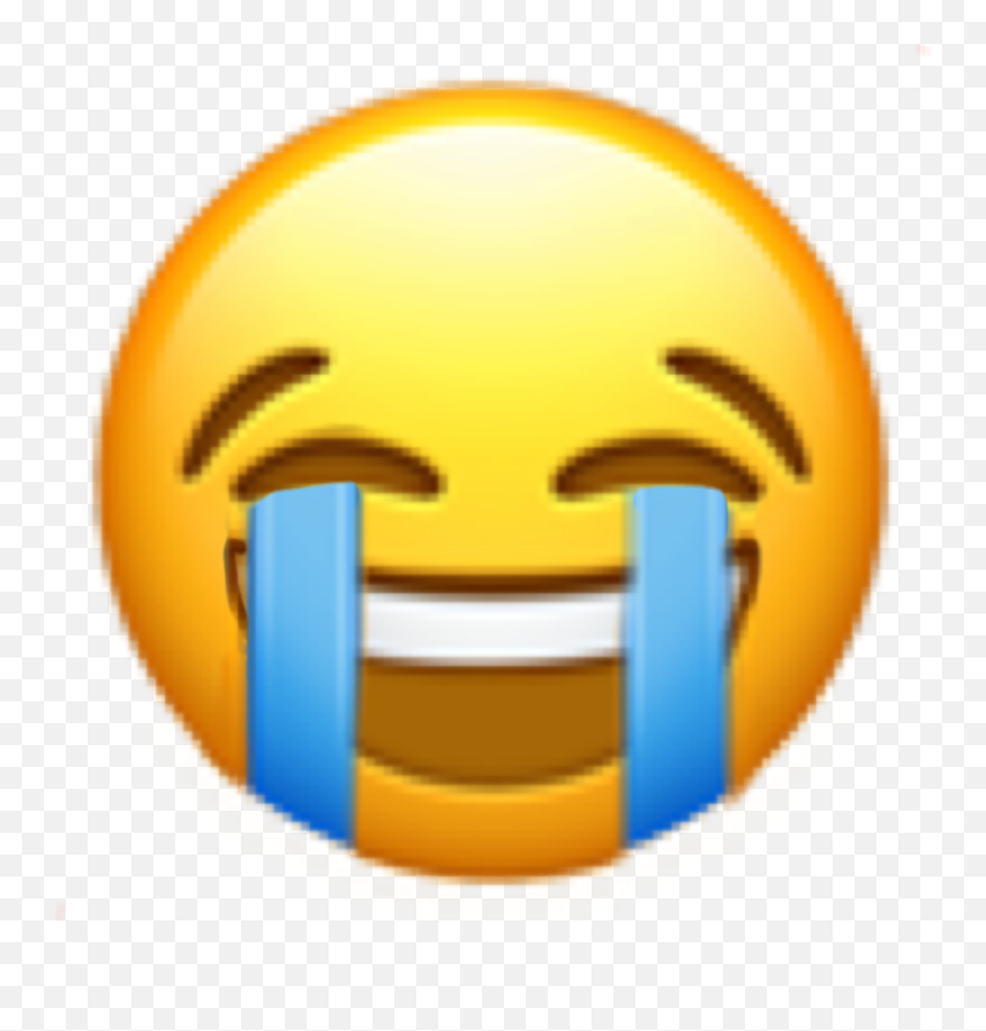Laughing Crying Lol Sticker By - Happy Emoji,Crying With Laughter Emoji
