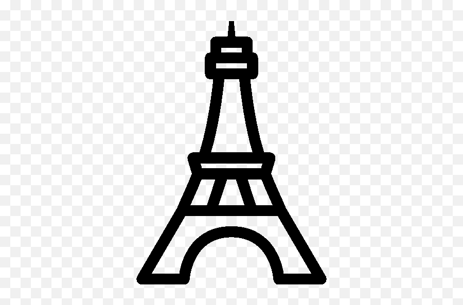Travel Eiffel Tower Icon - Torre Eiffel Icon Transparent Background Emoji,Eiffel Tower Emoji