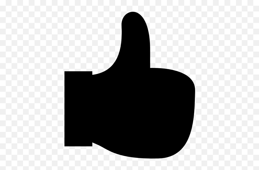 Thumbs Up Thumb Up Gestures Emoticon Hands Emoticons - Thumbs Up Emoji Black