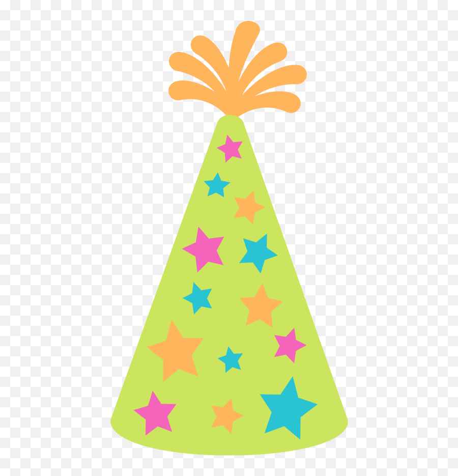 Freetoedit Birthday Hat - Circle Star Vector Png Emoji