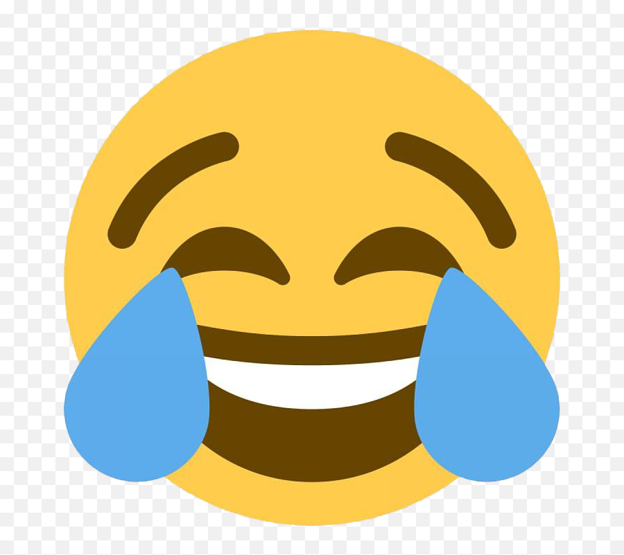 Crying Laughing Emoji Transparent Png - Joy Emoji Twitter,Laugh Cry Emoji Transparent