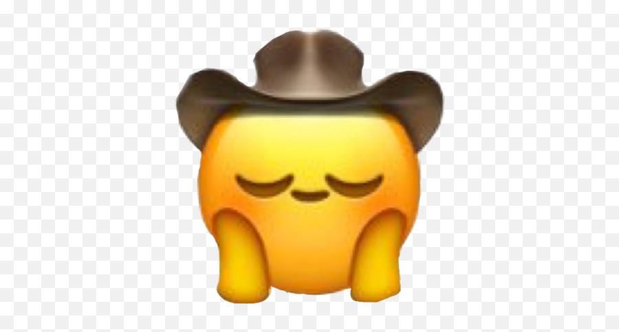 Cowboy Emoji - Cursed Emoji Png,Uwu Emoji