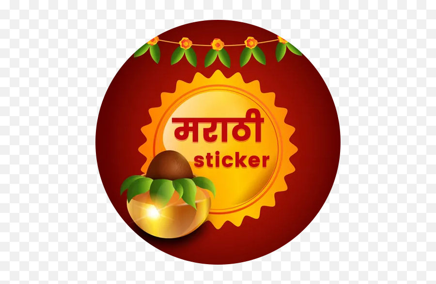 Get Top Marathi Stickers - WAStickerApps APK App For Android  Happy Ugadi And Gudi Padwa Emoji