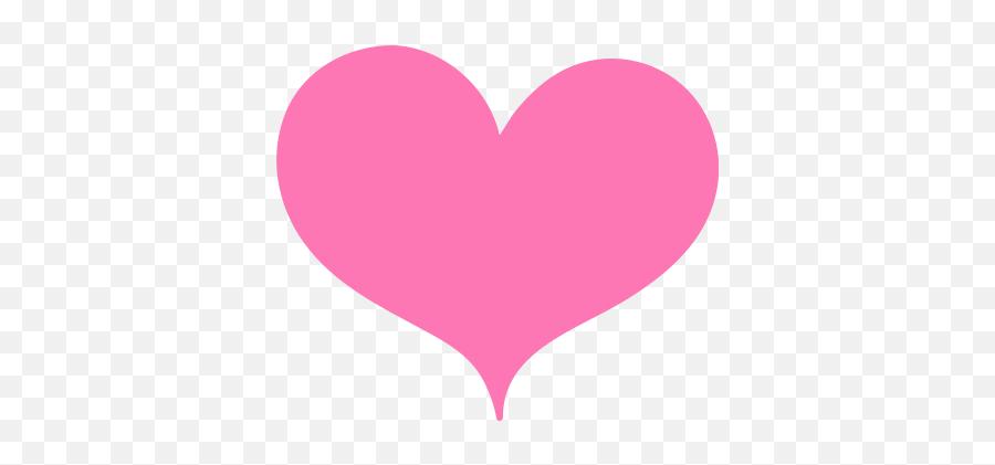 Svg - Pink Valentines Day Heart Emoji