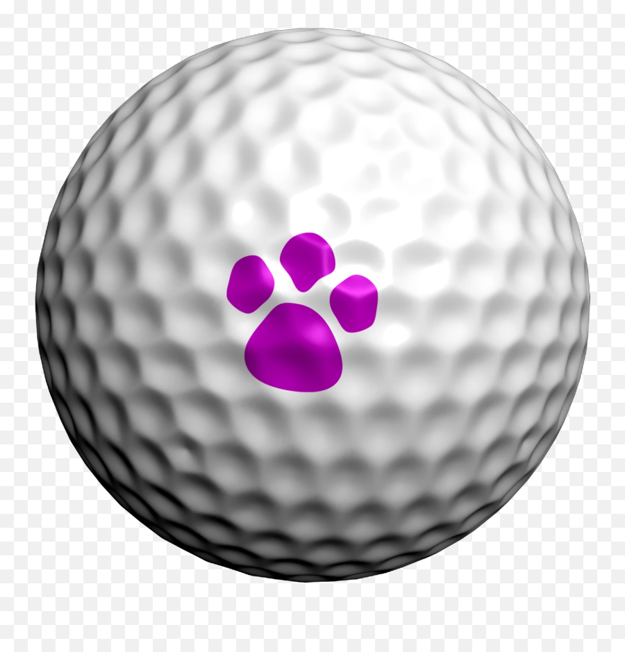 Paw Prints Mix - Four Leaf Clover Golf Ball Emoji