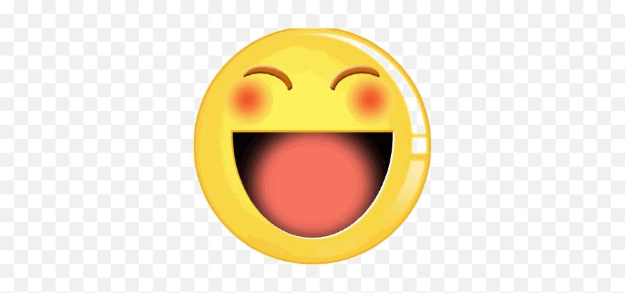 Smileys Gif Funny Gifsgif - Smiley Gif Funny Emoji,Funny Emoticon