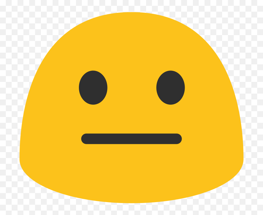 11 Most Commonly Misused Emoticons In Text Conversations - Android Neutral Face Emoji