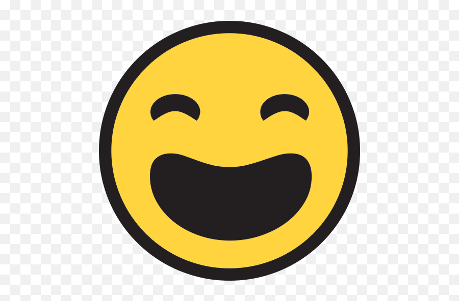 Smiling Face With Open Mouth And Tightly - Laugh Crying Emoji Microsoft,Open Eye Laughing Emoji