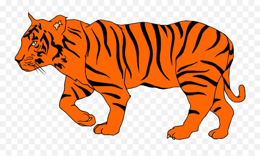 Bengal Tiger Clip Art - Tiger Clipart Emoji,Tiger Emoji
