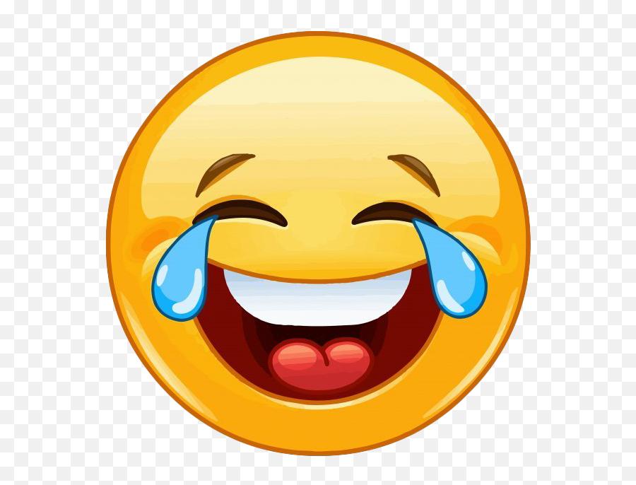 Crying Laughing Emoji Png Clipart - Laughing Emoji Clipart,Laugh Cry Emoji Transparent