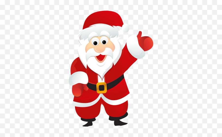Vector Santa Picture - Santa Claus Design Png Emoji,Santa Clause Emoticon