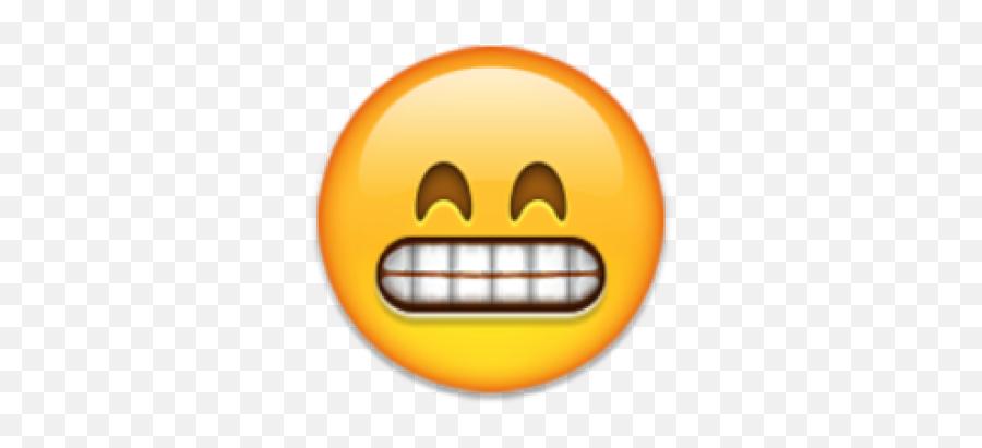 Flushed Face Emoji Grin - People Doing Emojis,Flushed Face Emoji