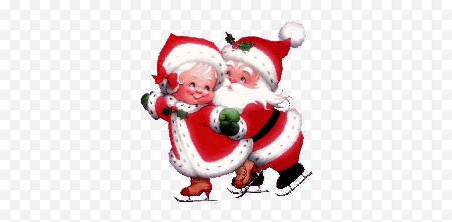 Top Santa Claus Sticker Stickers For - Clipart Animated Mrs Claus Emoji,Santa Clause Emoticon