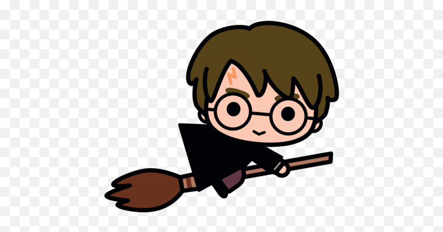 Harry Potter Characters Re - Imagined In Adorable New Designs Harry Potter Easy Drawing Emoji,Broom Emoji For Iphone