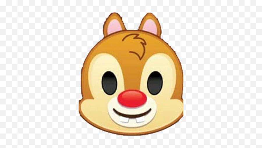 Dale - Chip And Dale Disney Emoji,Tiger Emoji
