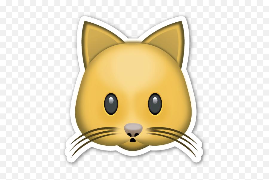 Cat Face - Emoticon De Gato De Whatsapp Emoji,Tiger Emoji