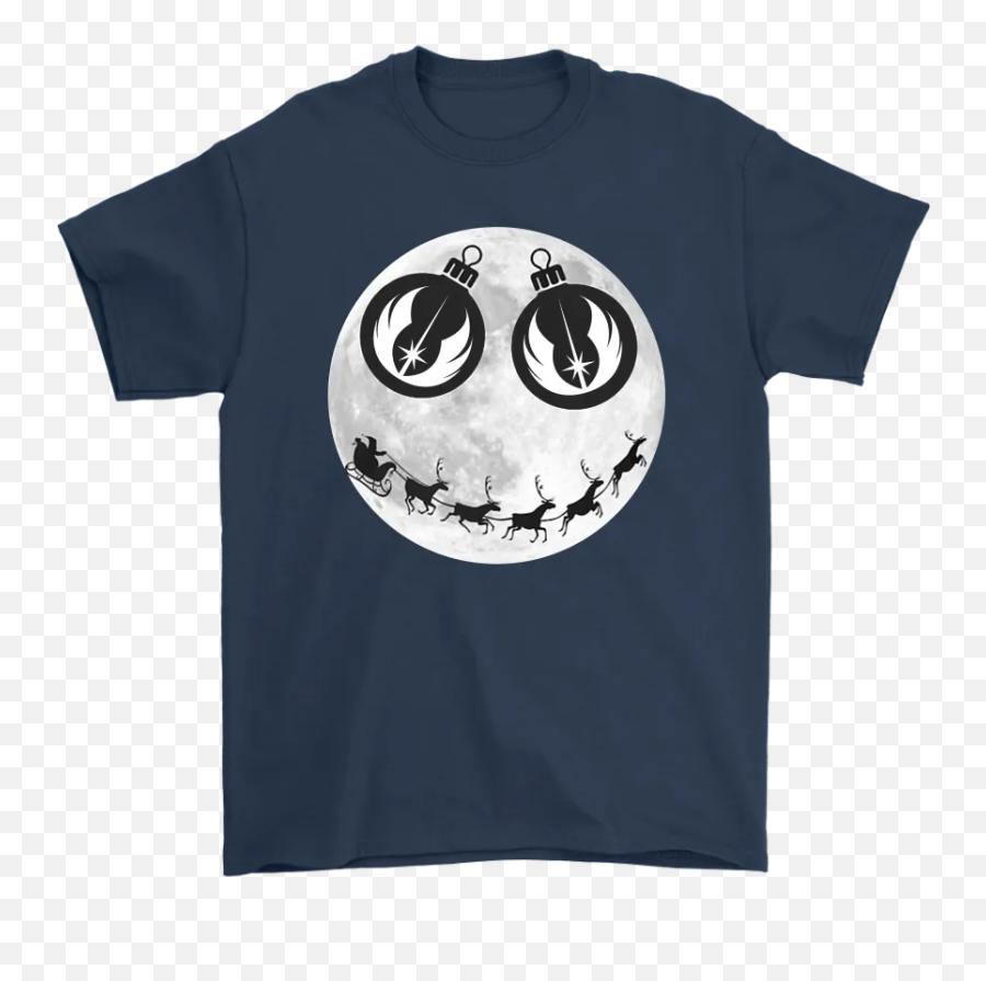 Santa Claus And The Jedi Order Smiling - Bernie Rainbow Unicorn Shirt Emoji,Santa Clause Emoticon