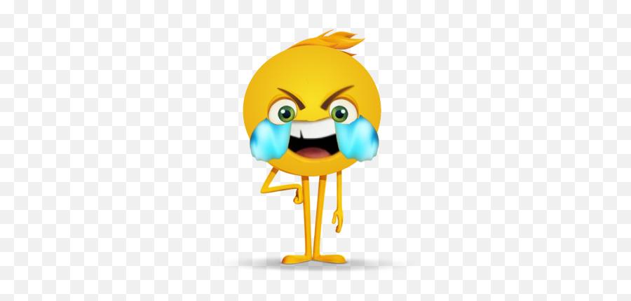 Eyes Open Crying With Laughter Emoji Gene - Emoji Movie Main Character,Laughing Crying Emoji