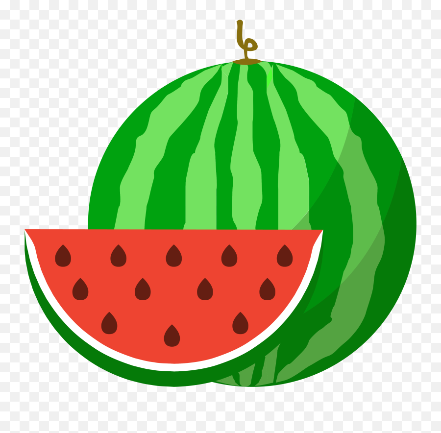 Watermelon Clipart Cucumber Melon Watermelon Cucumber Melon Water Melon Vector Png Emoji Watermelon Emoji Free Transparent Emoji Emojipng Com