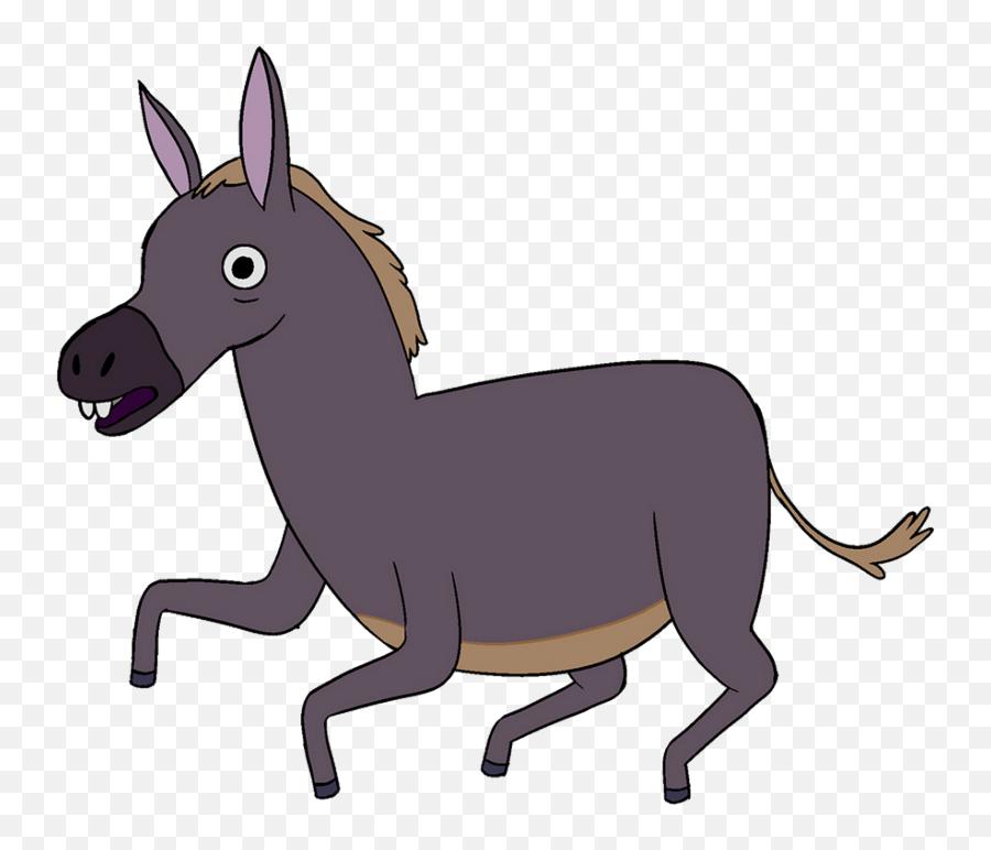 Donkey Clipart Saddle - Animated Donkey Png Gif Emoji,Donkey Emoji Iphone